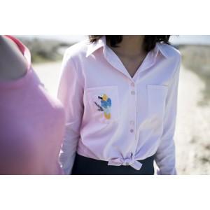 Patron Chez Machine ALBANE chemise femme mode couture