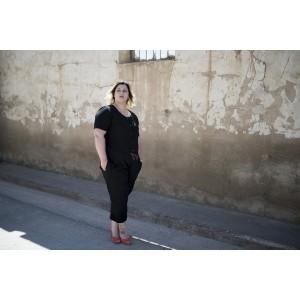 Patron Chez Machine Anissa combinaison pantalon short couture femme