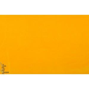 Minky velours  jaune