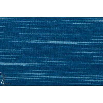 Strech Sweat Rétro-Lines Bleu jean