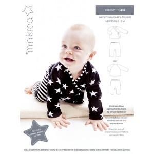 Patron Minicréa  10404 Anglais ensemble couture bébé anglais