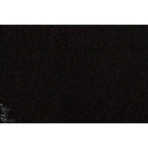 Bord Cote Lurex Noir - or tubulaire
