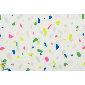 Popeline TERRAZZO CREAM Cotton and Steel