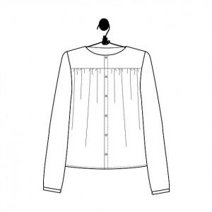 Patron Jane Laboratoire Familial couture mode femme blouse