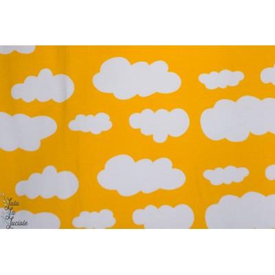 Jersey Nuages jaune
