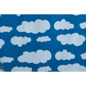 Jersey nuage Bleu
