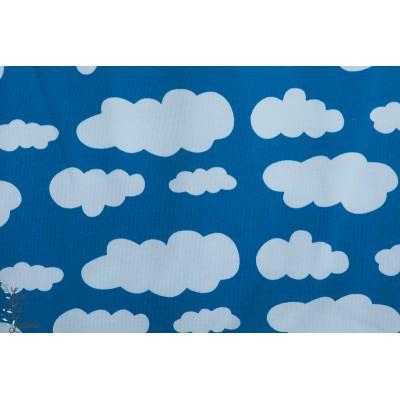 Jersey nuage Bleu cloud enfant couture pyjama