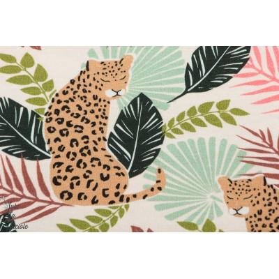 Sweat panthére animaux femme mode doux été couture  léopard,