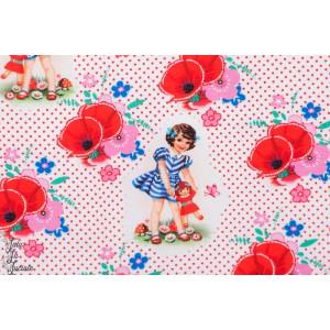 Jersey Fiona Hewitt Dolly and Me poupée et fillette fleur
