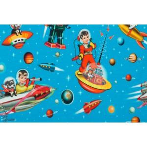 Sweat Fiona Hewitt  space kids espace astronaute enfant robot bleu garçon