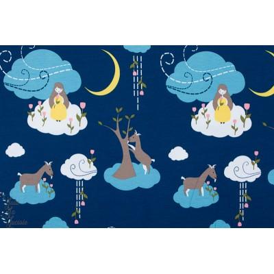 Jersey Bio Wolkenfee Lillestoff fée nuit enfant nuage