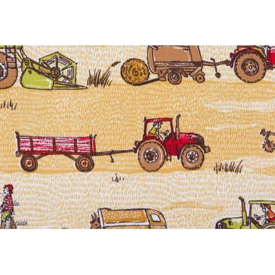 Jersey Bio Bauemhoffahrzeuge Susalabim Lillestoff ferme tracteur