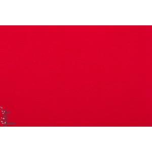 Bord cote bio tubulaire dunkelrot rouge foncé Lillestoff
