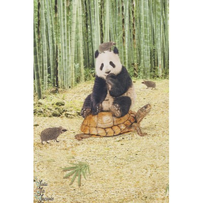 Panneau jersey digital Stenzo Panda tortue hérisson animaux
