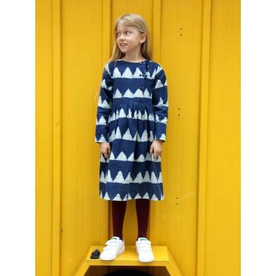 Patron Ikatee ELONA Duo Blouse robe 3-12 ans jersey jolies bobines duo fille enfant