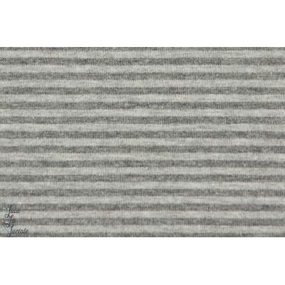 Jersey bio Raye gris anthracite