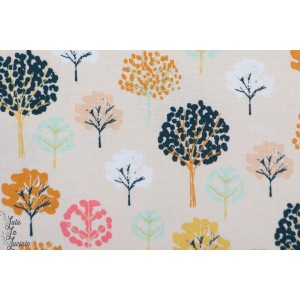 Popeline FLOCK1307 Trees Dashwood arbre graphique bethan janine