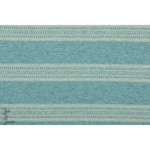 Summersweat bio blonder Hellblau lillestoff graphique rayure bleu