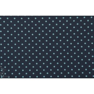 Popeline AGF -Petits Dots Midnight