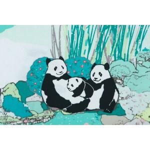 Popeline AGF Pandagarden Naptime