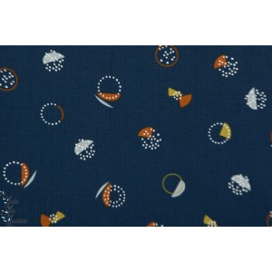 Popeline Dashwood New Horizons 1312 ali brookes patch plaid mavada bleu graphiquen vue du ciel