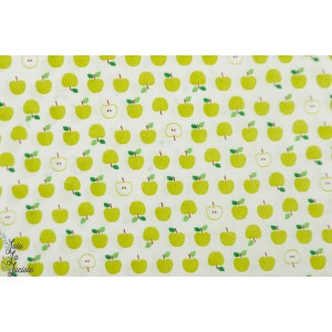 Popeline Little Apple Green Sevenberry Petite pomme verte