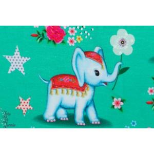 Jersey Digital La parade des Eléphants Fiona hewwit rétro vintage