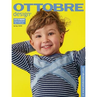 Magazine Ottobre Kid 1/2018 enfant patron couture