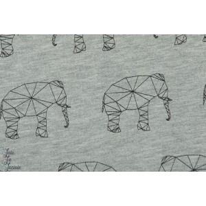 Sweat Elephants Avalana graphique gris