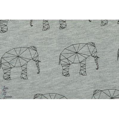 Sweat Elephant graphique  Avalana gris