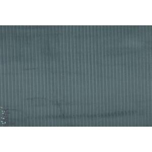 Velours cotelé Bio Steel Blue bleu gris stoffonkel