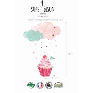Transfert SUPER BISON Cup Cake