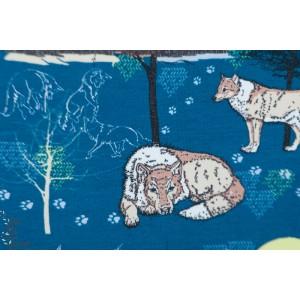 Summersweat bio Der Einsame Wolf - Loup Solitaire - tante Gisi - Lillestoff