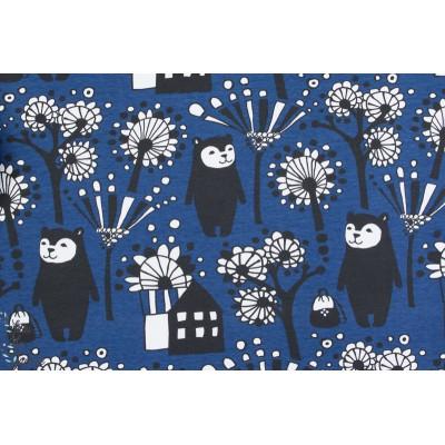 Backpack Bear Blueberry PAAPII, design  Anniina Isokangas / PaaPii Conception