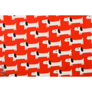 jersey Bio Sidewalk red Rover Cloud9 - chien graphique rouge