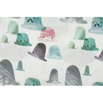 Jersey Bio Hiding hat story of roo chapeau histoire tale poêtique pastel