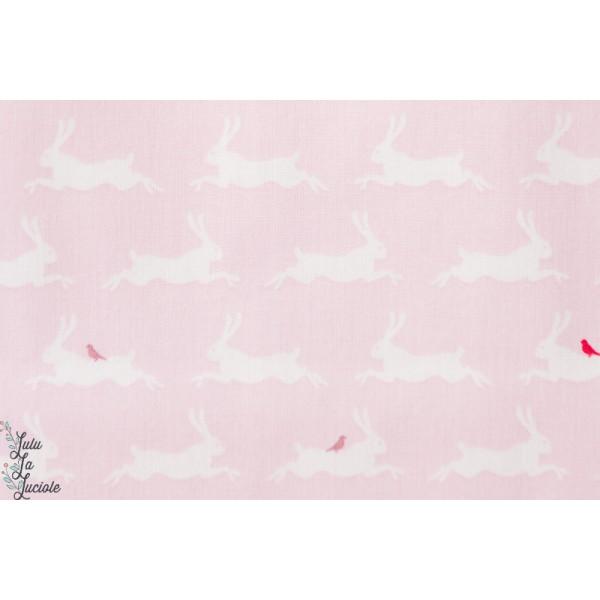 Gütermann de coton lapin rose Little Friends