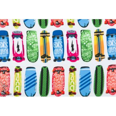 Sweat Skateboards couleur plage été ado graphique enfant garçon mer