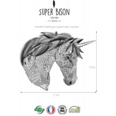 Transfert SUPER BISON Licorne