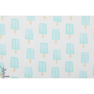 Sweat bio ice Blue glace bleu graphique maison victor about blue fabric
