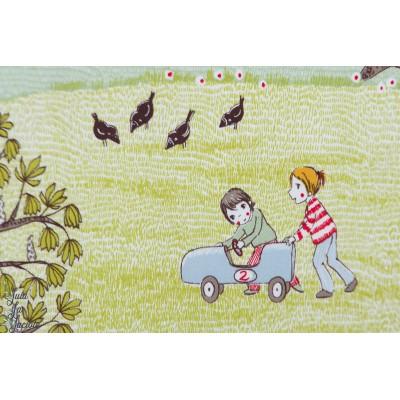 Jersey Bio la primavera SUSAlabim, Le printemps - Lillestoff enfant campagne nature jeu