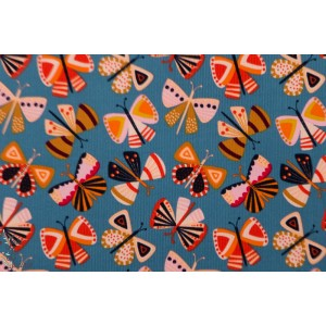 "Velours Milleraie Dashwood ""Grey Butterfly"" cordory studio papillon couleur fin"