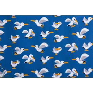 Jersey CPF sea gull mouette oiseau graphieque mer bleu copenhagen print factory
