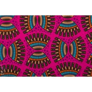 Popeline Abla Hambuger Liebe Rose afrique graphique mode femme aba wax couleur