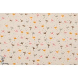 Velours Milleraie Dandelion fleur pissenlit végétal grpahique doux tendre