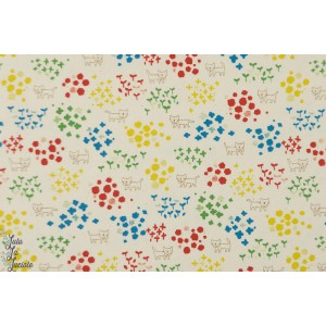 Coton Oxford Little Foxes Kokka