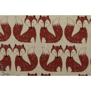 Chalk Hill Foxes Con Lin Dashwood renard graphique rétro vintage nature