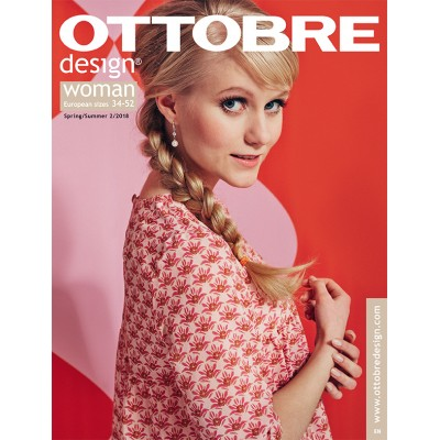 Ottobre Design  Woman 2/2018 femme patron couture useul casual mode
