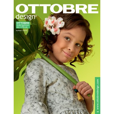 Magazine Ottobre Design Kids 3/2018 patron enfant couture