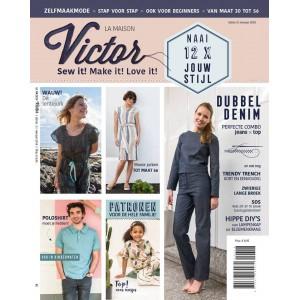 Magazine Maison Victor 3/2018 patron couture famille femme enfant homme laine